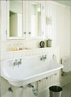 Nice vintage bathroom sink | Baños Vintage | Pinterest