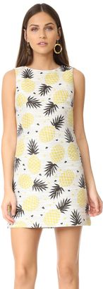Shop Now - >  https://api.shopstyle.com/action/apiVisitRetailer?id=633717380&pid=uid6996-25233114-59 alice + olivia Clyde Shift Dress  ...