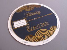 The Inspired Bride Invitation Wheel
