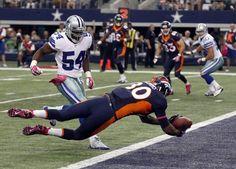 denver broncos vs dallas 2013   ... Dallas Cowboys lose 51-48 to Denver Broncos on last-second FG