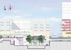 Belval Square Mile Esch-sur-Alzette [LU] >> Masterplan for 10 blocks on former blast furnace location