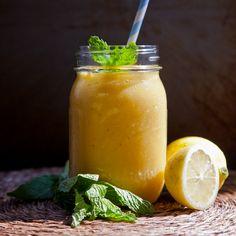 Mango Lemon Kombucha Smoothie