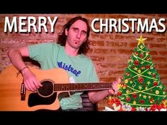 Como Tocar Navidad en Guitarra Acústica: We Wish You a Merry Christmas Completo! Tutorial TCDG - YouTube