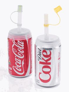 Soda Straws for Cans - 2 Pack