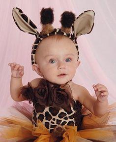 Baby Giraffe Ears by KneesandPaws on Etsy, $20.00