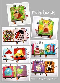Fühlbuch nähen sewing quiet book