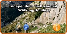 Self-guided hiking