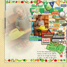 Layout by domad  Credits:  Groceries by Kristin Aagard Designs