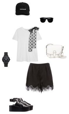 #22 by janema on Polyvore featuring polyvore, fashion, style, RED Valentino, Alexander Wang, MICHAEL Michael Kors, ZeroUV and clothing