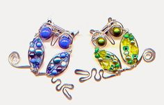 WireWorkers Guild--wire-wrapped owls tutorial