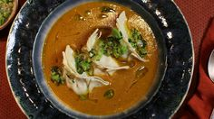 Harira with chicken dumplings | Chicken recipes | SBS Food