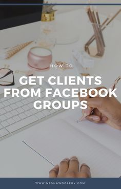 How to get clients from Facebook groups | Need to book more clients? Getting clients from Facebook groups and other social media websites seems hard but it isn't- honest! Click through to see how I find and book clients through Facebook groups. #Freelance