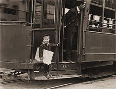 Child Labor in the US 1908-1912. Francis Lance, 5 years old, 41 inches high. He jumps on and off moving trolley cars at the risk of his life. St. Louis, Missouri. As a mother of a 5 year old, I am horrified.