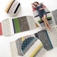 Mangas rugs and sofas, Patricia Urquiola