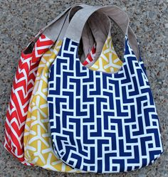 GeoCentric Summer Totes