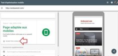 Quand l'outil de Test du mobile-friendly sert à référencer son site sur Google