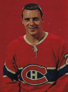 Joseph Jean Gilles Tremblay (December 17, 1938 – November 26, 2014) was a Canadian ice hockey left winger who played his entire National Hockey League (NHL) career with the Montreal Canadiens from 1960 to 1969. He played 509 games, scored 168 goals and added 162 assists before injuries led to his retirement at the age of 31. Tremblay was a member of four Stanley Cup championship teams with Montreal, in 1965, 1966, 1968, and 1969.