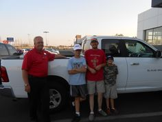Darrell Six sold Casey Dumas 2011 Dodge Ram
