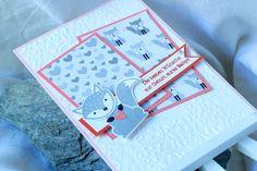Babykarte Ausgefuchst Foxy Friends Zum Nachwuchs kreative Naschkatze - 4