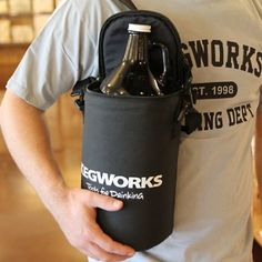 KegWorks Insulated Beer Growler Bag