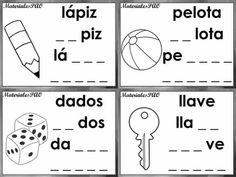 Spanish Activities, Preschool Activities, Syllable, Speech Therapy, Acting, Homeschool, 1, Classroom, Teacher