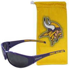 Minnesota Vikings Sunglass and Bag Set
