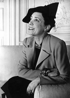 Elsa Schiaparelli (1890-1973) was an Italian fashion designer. Along with Coco Chanel, her greatest rival, she is regarded as one of the most prominent figures in fashion between the two World Wars. Starting with knitwear, Schiaparelli's designs were heavily influenced by Surrealists like her collaborators Salvador Dalí and Alberto Giacometti. Schiaparelli did not adapt to the changes in fashion following World War II and her business closed in 1954.