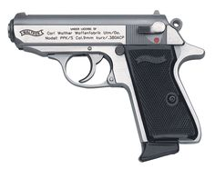 Walther PPK/S 380 ACP, Stainless, Mags. Walther The Walther PPK/S is a great choice when looking for a concealed carry firearm. This pistol features a double/single action, along with a stainless finish. Chambered in ACP and comes with a 7 round magazine. Guns And Ammo, Weapons Guns, Rifles, Pocket Pistol, 380 Acp, Gun Holster, Holsters, Custom Guns, Fire Powers