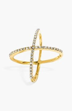 Ladies's Baublebar 'Mason' Pave Ring.... >> Look into even more at the image