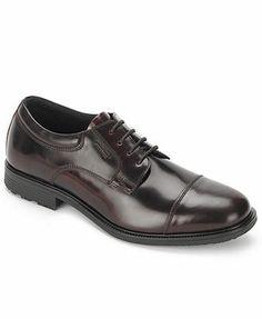 Rockport Essential Details Waterproof Cap-Toe Shoes