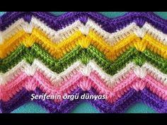 Dalgalı Bebek Battaniye Yapılışı , , Zikzaklı battaniye modellerinden süper bir örnek. Bebekleriniz için, torunlarınız için örebilirsiniz bu şık battaniyeyi. Evde kalan ipleri d...