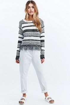 Minkpink Soul Searching Jumper in Mono