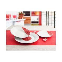 Vajilla porcelana Dinamika 18 piezas Quid #menajemesa Shopping, Dinnerware, Porcelain Ceramics, Get Well Soon, Mesas