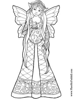 find this pin and more on coloring page heart fairy coloring page