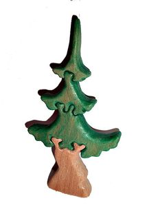 Wooden Tree Toy Waldorf Learning Toys Wooden Toy Birthday Gift Toys for Toddler Gift for Kids Baby Toys Handmade Eco Friendly Toys  Puzzle toy  Treeconsists of: 4 parts. Colourful wooden pieces help develop hand-eye coordination, matching skills as well as fine motor skills.Wooden puzzle toys are both fun and educational. This toy is made out of beech wood and coloured with child friendly, water based paint.  Age: 1 years old and over  Size: 9/17cm-(3.5* 6.7* 0.6inches) The product is fu...