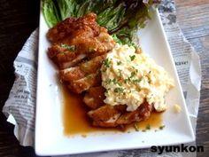【簡単カフェごはん】鶏胸肉で*本格チキン南蛮|レシピブログ
