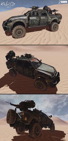armoredtruck — Alan Van Ryzin - Freelance 3D Artist
