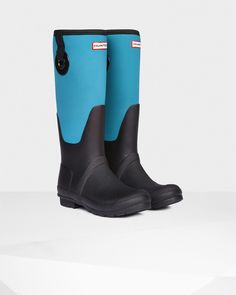 Women's Original Scuba Eyelet Wellington Boots