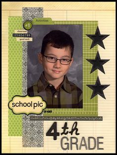 Life on the Lam(B): Another Winner! Grade 4 school picture