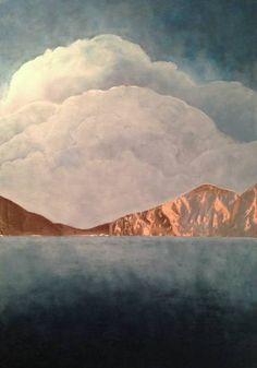 "Saatchi Art Artist Orfhlaith Egan; Painting, ""Loch Coirib"" #art"