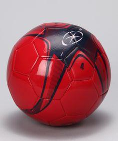 Red XB1 Soccer Ball  zulily  fall Football Gear 757bd74235a4b