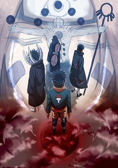 Tags: Anime, NARUTO, Pixiv, Nohara Rin, Obito Uchiha