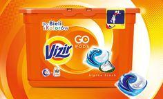 Przetestuj kapsułki do prania Vizir 3-in-1 Pods