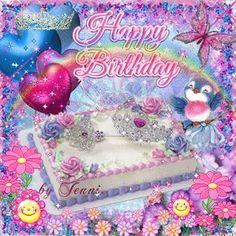 HAPPY BIRTHDAY lil bluebird!From my Dianne