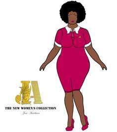 #plussize #fofinhas #gordinha #blackgirl #blackpower #afrohair #negra #sizegirls #polo #polodress #lindas #seidesenharmuitobem #artedigital    Snapchat: jose_aureliano3