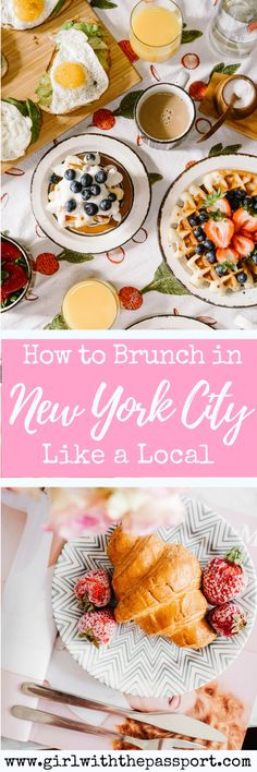 When doing some New York City travel, one of the best New York City things to do is to go out to Brunch. and enjoy the best New York City food. So here are ten amazing New York City brunch spots. to add to your New York City bucket list.