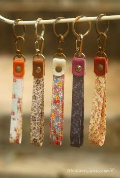Wholesale lot 50 pcs Wrist Key fobKeychainStrap with by GimCarry