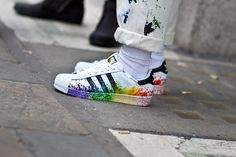 20 Best Sneakers of London Fashion Weekk S/S 2015 Adidas