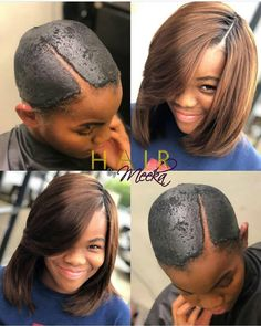 The best human hair online shop - Bea Hairs Quick Weave Hairstyles, African Braids Hairstyles, Pretty Hairstyles, Cute Hairstyles, Braided Hairstyles, Black Hairstyles, Hairstyle Ideas, Hair Ideas, Quick Weave Styles