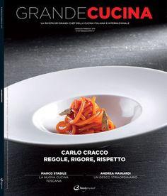 Grandi in cucina - Bimestrale - pubblica ricette dei maggiori esponenti del panorama gastronomico italiano, intercalate da rubriche fisse, interviste ai protagonisti e approfondimenti su ingredienti, strumenti e tecnologie.